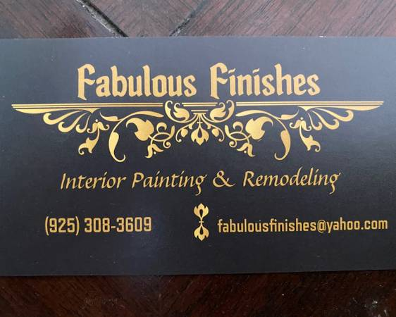 House Painting, Interior Remodeling (brentwood / oakley)