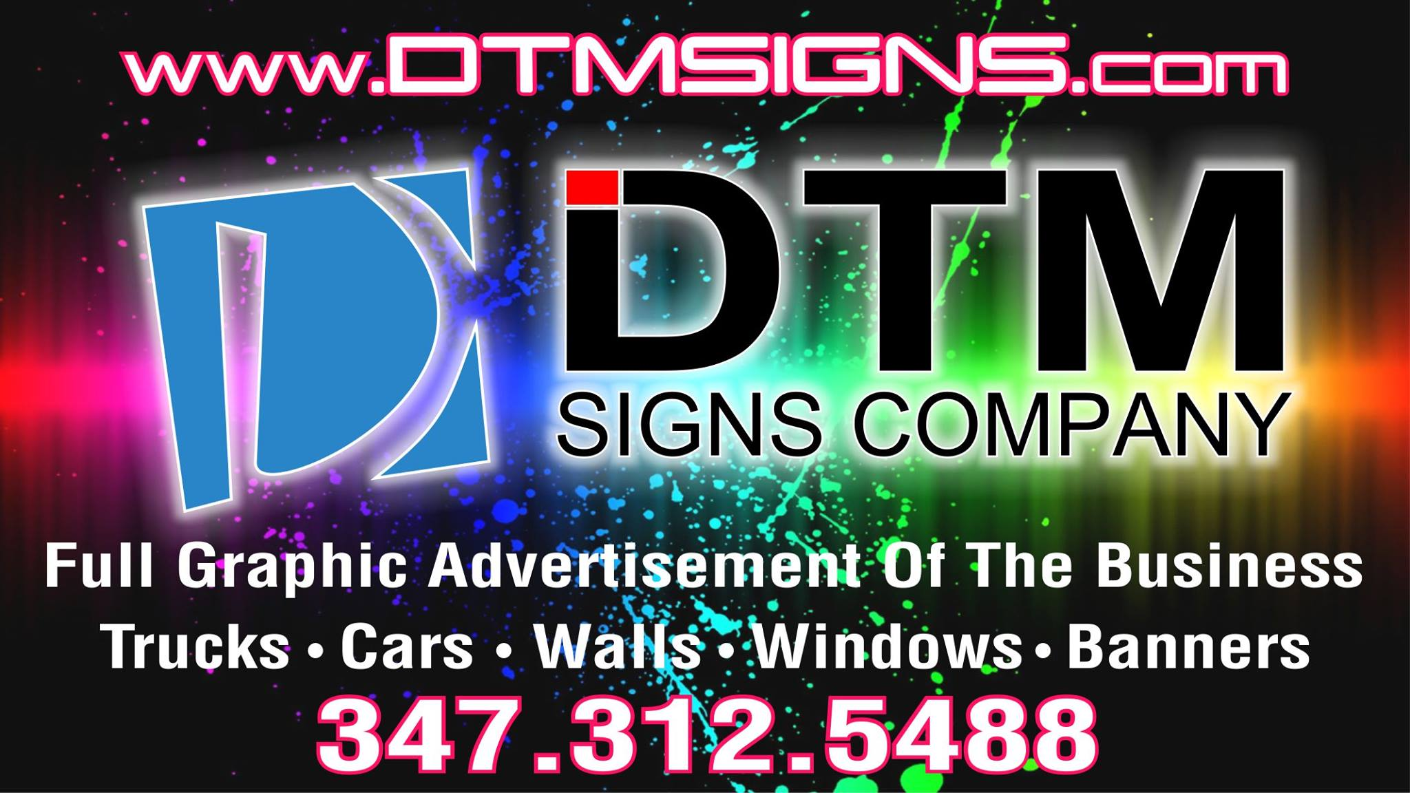 DTM Signs and Truck Wraps