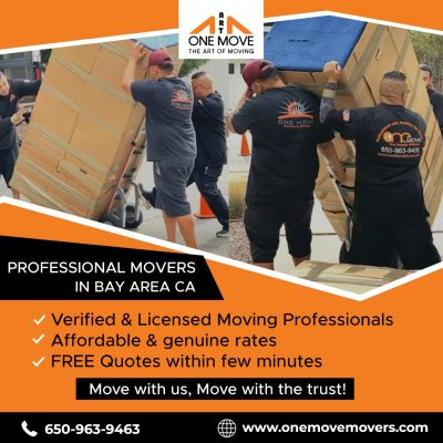 The One Move Moving Delivery & Storage
